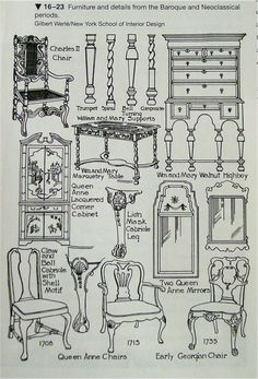 Baroque - NeoClassical Furniture.