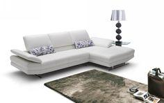 Divani Casa 952 - Modern Italian Leather Sectional Sofa