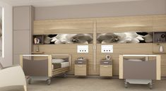 Totem Spazio · Hakoma Modern Hospital, New Hospital, Hospital Room, Hospital Architecture, Healthcare Architecture, Interior Architecture, Medical Design, Healthcare Design, Design Clinique