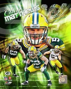 Clay Matthews Framed With double black matting Ready To Hang- Awesome & Beautiful Green Bay Packers Wallpaper, Green Bay Packers Fans, Nfl Green Bay, Packers Baby, Packers Football, Football Helmets, Greenbay Packers, Football Baby, Clay Matthews