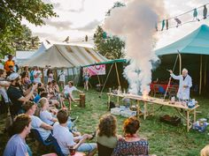 SO COOL science demonstration at Secret Garden Party