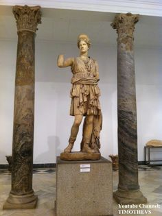 Statue of Diana as a Huntress, Museo de Arqueología, Sevilla (Spain) More at: https://www.youtube.com/watch?v=1_h-LnracMM
