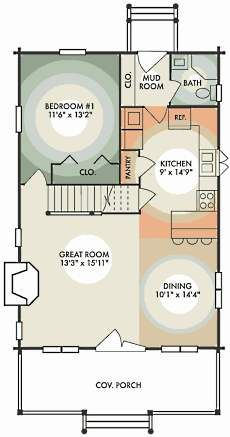 Small Log Cabin Floor Plans . . . Tiny Time Capsules!