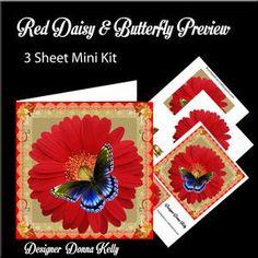 Daisy & Butterfly Birthday Mini Kit 5