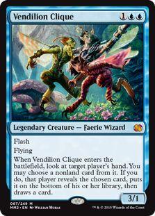 Vendilion Clique FOIL Magic the Gathering Modern Masters 2015 mtg card Manado, Magic The Gathering Karten, Mtg Altered Art, Legendary Creature, Magic Cards, Modern Masters, Fantasy, Summoning, Deck Of Cards
