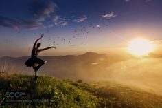 Dancing on the edge of time by dherold. @go4fotos