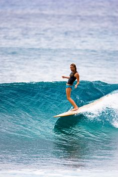 Hells bells. It's on my mental bucket list: learn to surf and live somewhere where I can continue to surf