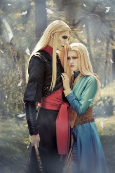 Nuala and Nuada by Hidory.deviantart.com on @deviantART