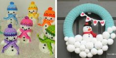 snowmen decorations crochet patternsorations.
