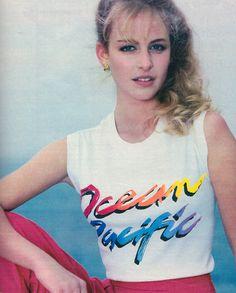 Ocean Pacific, Seventeen magazine, May 1984.