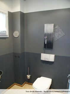 deco wc bleu et gris. Black Bedroom Furniture Sets. Home Design Ideas