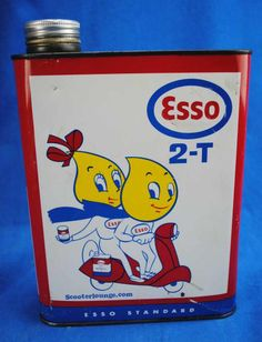 Esso Scooter 2 Stroke Oil