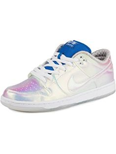 "Nike Mens x Concepts Dunk Low Pro SB ""Holy Grail"" Diamond Synthetic Size 9.5 ❤ Nike"