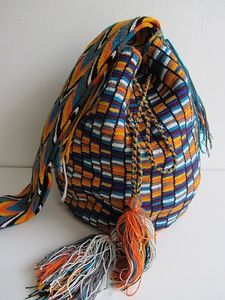 Колумбийская мочила. Вяжем жаккардовую сумку крючком