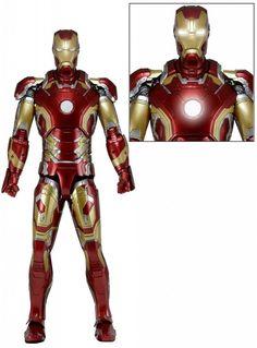 The Avengers Action Figure 1/4 Iron Man Mark XLIII 46 cm