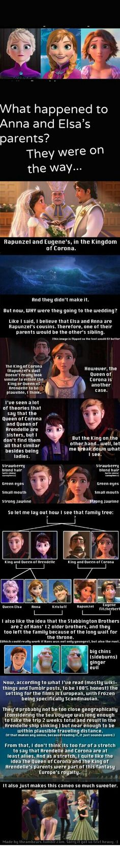 "Disney's ""Tangled"" and ""Frozen"" are connected."