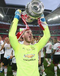 FA Cup glory for @manutd goalkeeper David De Gea!