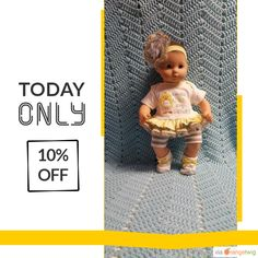 "Today Only! 10% OFF this item.  Follow us on Pinterest to be the first to see our exciting Daily Deals. Today's Product: Baby Doll Clothes ""Could I Be Any Cuter?"" 15 inch doll outfit Will fit Bitty Baby® Bitty Twins®  dress, shorts, socks, headband F9 Buy now: https://small.bz/AAhBHS9 #etsy #etsyseller #etsyshop #etsylove #etsyfinds #etsygifts #musthave #loveit #instacool #shop #shopping #onlineshopping #instashop #instagood #instafollow #photooftheday #picoftheday #love #OTstores #smallbiz…"