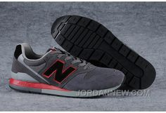 http://www.jordannew.com/new-balance-996-men-carbon-grey-red-authentic.html NEW BALANCE 996 MEN CARBON GREY RED AUTHENTIC Only 59.55€ , Free Shipping!
