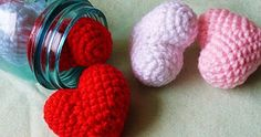 Free heart pattern- can be used to make ornaments.