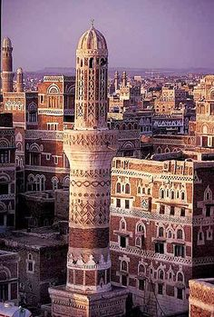 Old Sana'a city in Yemen - a marvel in the world, adorned with wonderful ancient houses, the pride of ancient Arab culture, one of the rarest architectural cults in the entire world. Yemeni Arab people, pious and brave, kept this ancient fabric of art intact. But now, the ninety year old Wahhabi terrorist regime of Saudi Arabia that cannot create anything at all but petrodollar, and only buy ammunitions from the USA and the UK, is destroying this wonder!