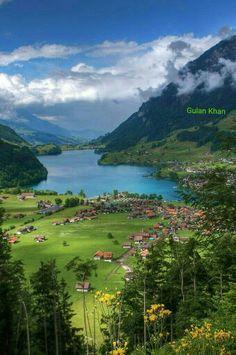 Wonderful view of the Switzerland