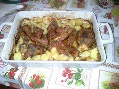 Capretto al forno con patate!!!