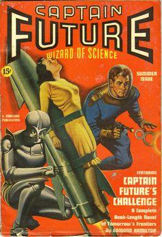 Captain Future V1#3 Summer 1940