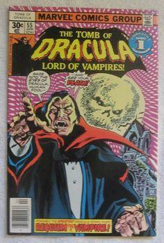 Tomb of Dracula #55 (Apr 1977, Marvel) F/VF 7.0