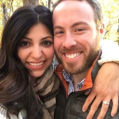 """So happy for sweet couple Layla and Todd who found her ring at our Tysons store! """"Before I was going on holidays in November my sweet man took me to the Shenandoahs to enjoy the Virginia leaves. Little did I know he had this beauty from Mervis in his pocket & a beautiful proposal. Thanks Mervis! We are looking forward to buying our wedding bands with y'all & getting married 10/7/17.""""  #mervismoment - with love from Mervis Diamond"""
