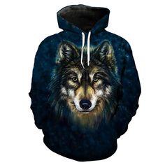 Wolf Hoodie 3D Full Printing //Price: $46.00 & FREE Shipping //     #uzumakinaruto #obito #itachi #emotional #sharingan #awakening Wolf Hoodie, Anime Store, Christmas Clothes, Itachi, Awakening, Dragon Ball, Fans, Batman