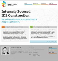 Tunnel Vision Labs - CoolHomepages Web Design Gallery