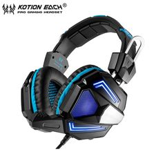 18.99$  Watch here - http://alimsx.shopchina.info/go.php?t=32801129687 - EACH G5000 Gaming Headband Headphone Best Stereo Game Earphone Headset with Microphone Mic LED Light for PC Computer Gamer  #magazine