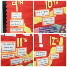 Cool+High+School+Bulletin+Boards | ups of the tips for each grade level of my last year's bulletin board ...