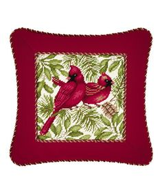 This Cardinals Throw Pillow is perfect! #zulilyfinds