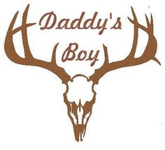 Boys Room Daddys Boy Hunting Decal Removable Wall Vinyl M2M Realtree Bedding