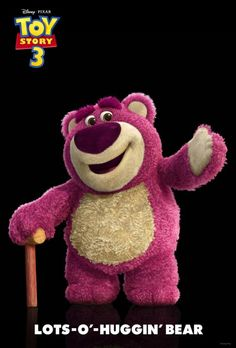 Lotso-And He Smells Like Strawberries!!!
