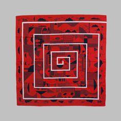 Maze Furoshiki Scarf | Shedquarters