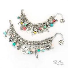 Pulseras Ríe Simona Bead Jewellery, Beaded Jewelry, Jewelery, Jewelry Bracelets, Diy Fashion Accessories, Silver Accessories, Fashion Jewelry, Handmade Bracelets, Handmade Jewelry