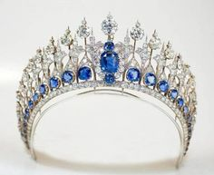 The Dutch Sapphire & Diamond Mellerio Tiara, Wow!