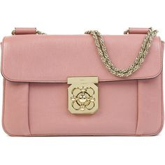 CHLOE Elsie medium leather chain shoulder bag