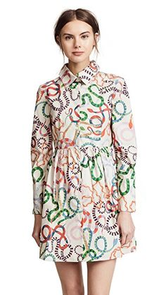 Rachel Antonoff Prescott Dress/love the snakes! shopbop