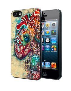 Elephant Art iPhone 4 4S 5 5S 5C Case