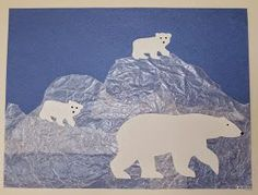 "This past week my class studied polar animals. Since my crafts were mostly ""reruns"" that I tweaked a bit and ones I copied from other peop..."