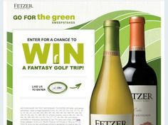 Fetzer Vineyards Go for the Green Sweepstakes