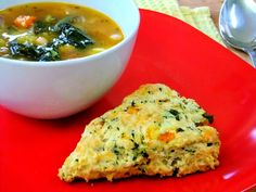 The next time you have a pot of homemade soup simmering on the stove take the extra time and whip up a batch of these savory scones, don't they just scream fall?They're crunchy, cheesy, and filled with all things good, like pumpkin, kale and of course… a little bit of butter! Make sure you buy …