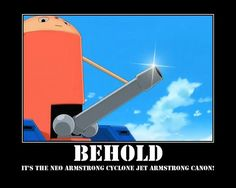 The Neo Armstrong Cyclone Jet Armstrong Canon