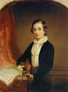 Portrait of Prince Nikolai Borisovich Yusupov - Christina Robertson