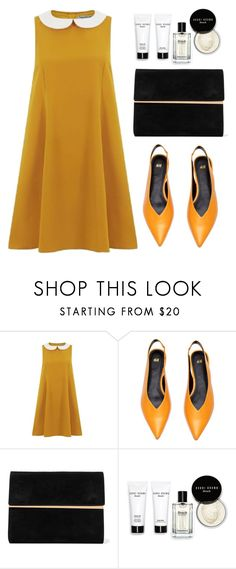 """""""orange"""" by papiert ❤ liked on Polyvore featuring Maison Margiela and Bobbi Brown Cosmetics"""