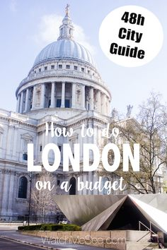 A city trip to London can easily break your bank - but it doesn't have to! Click here to read my 48h city guide for London on a budget, or save this pin for later!